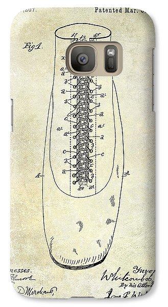 1896 Shoe Patent  Galaxy S7 Case