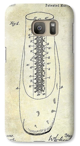 1896 Shoe Patent  Galaxy Case by Jon Neidert