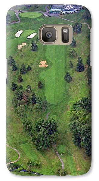 Galaxy Case featuring the photograph 18th Hole Sunnybrook Golf Club by Duncan Pearson