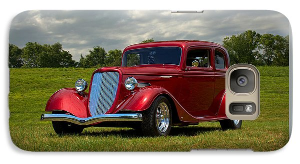 Galaxy Case featuring the photograph 1933 Ford Vicky Hot Rod by Tim McCullough