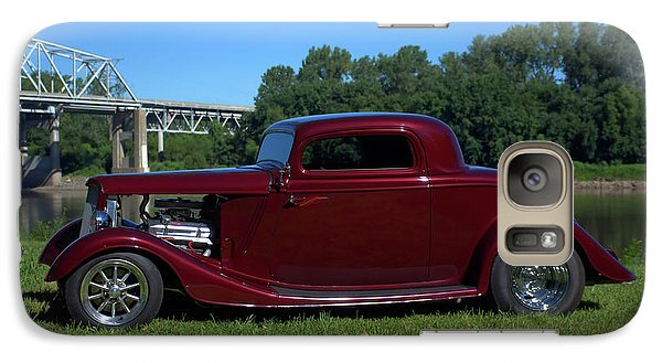 Galaxy Case featuring the photograph 1934 Ford Coupe by Tim McCullough