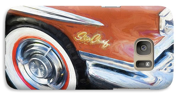 Galaxy Case featuring the photograph 1958 Pontiac Star Chief  by Rich Franco