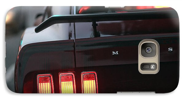 Galaxy Case featuring the photograph 1969 Ford Mustang Mach 1 by Gordon Dean II
