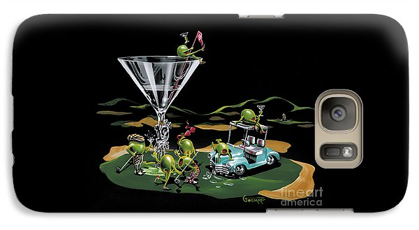 Martini Galaxy S7 Case - 19th Hole by Michael Godard