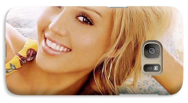 2918 Celebrity Jessica Alba  Galaxy S7 Case