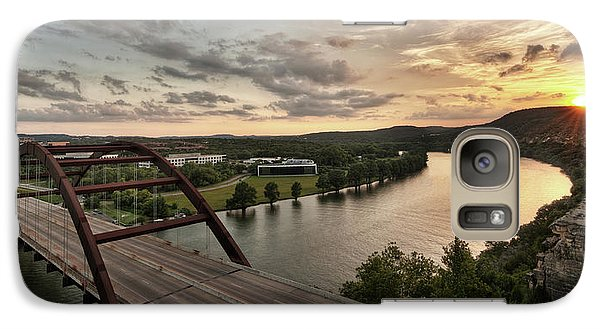 360 Bridge Sunset Galaxy S7 Case