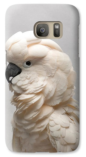 A Salmon-crested Cockatoo Galaxy S7 Case
