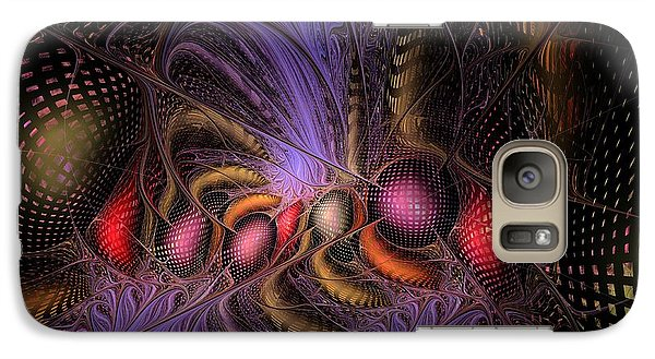 Galaxy Case featuring the digital art A Student Of Time by NirvanaBlues