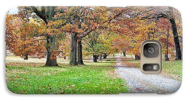 A Walk In The Park Galaxy S7 Case by Robert Culver