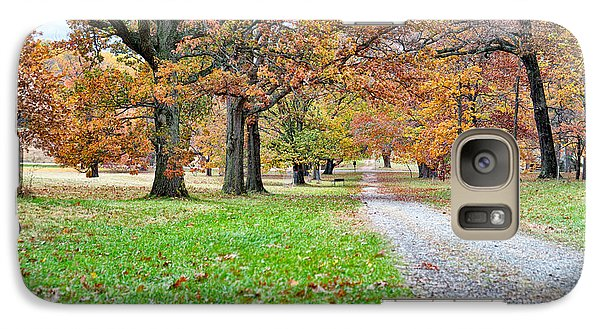 Galaxy Case featuring the photograph A Walk In The Park by Robert Culver