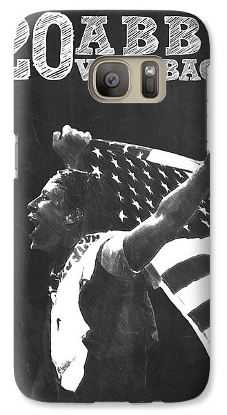Abby Wambach Galaxy S7 Case by Semih Yurdabak