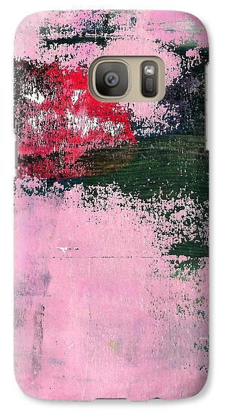 Galaxy Case featuring the mixed media Abstract 1 by Lisa Noneman