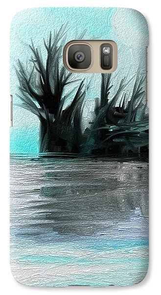 Galaxy Case featuring the digital art Art Abstract by Sheila Mcdonald