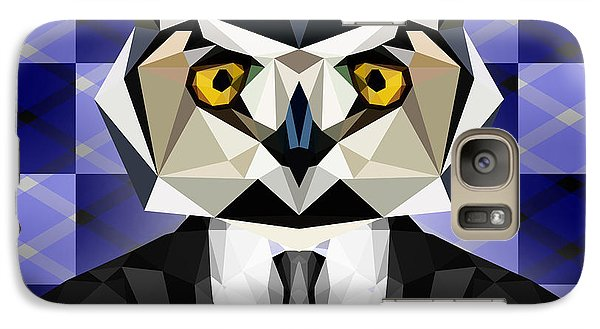 Abstract Owl Galaxy S7 Case