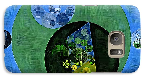 Galaxy Case featuring the digital art Abstract Painting - Amazon by Vitaliy Gladkiy