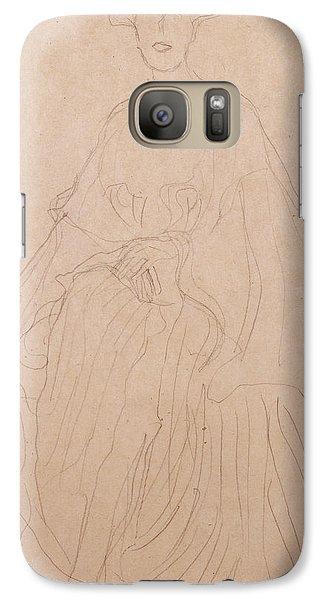 Adele Bloch Bauer Galaxy Case by Gustav Klimt