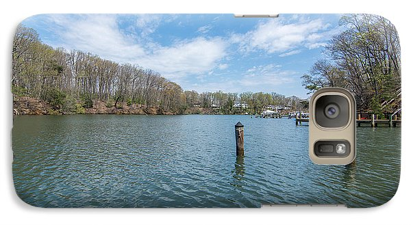 Galaxy Case featuring the photograph Weems Creek Annapolis, Md by Charles Kraus