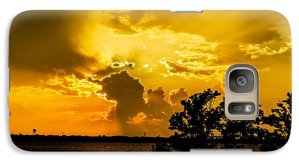 Galaxy Case featuring the photograph After The Storm by Betty LaRue