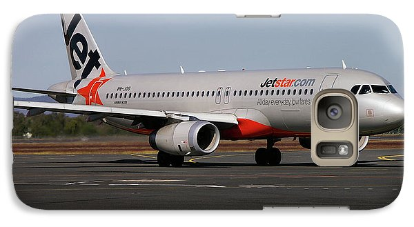 Galaxy Case featuring the photograph Airbus A320-232 by Tim Beach