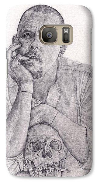 Alexander Mcqueen Savage Beauty Galaxy S7 Case by Kent Chua
