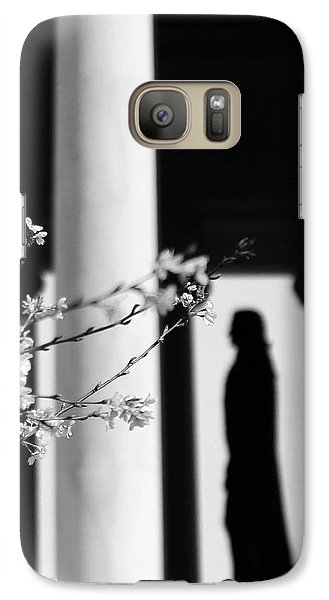 Galaxy Case featuring the photograph Alone by Mitch Cat
