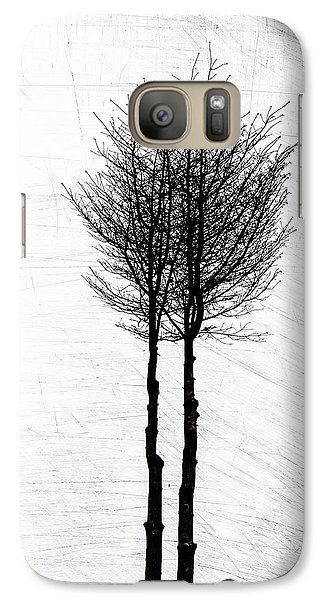 Galaxy Case featuring the photograph Alone Together by Odd Jeppesen
