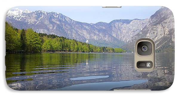 Galaxy Case featuring the photograph Alpine Clarity by Ian Middleton