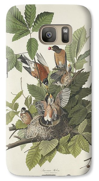 American Robin Galaxy S7 Case by Dreyer Wildlife Print Collections