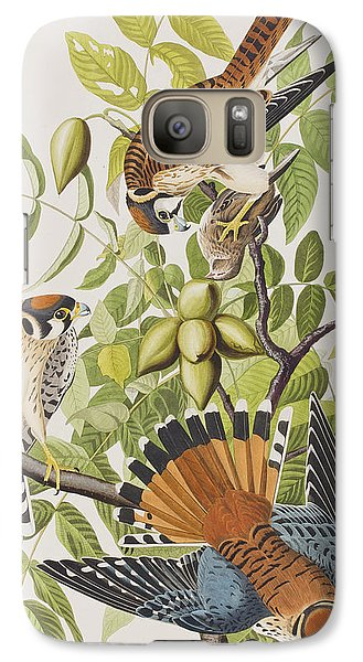 American Sparrow Hawk Galaxy S7 Case by John James Audubon