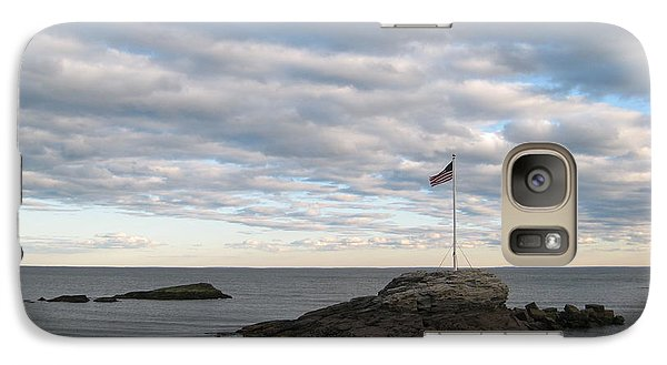 Galaxy Case featuring the photograph Anchor Beach by John Scates