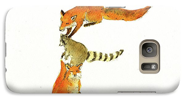 Animal Letter Galaxy S7 Case