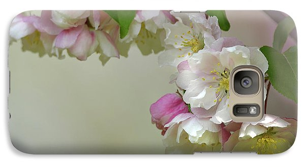 Galaxy Case featuring the photograph Apple Blossoms  by Ann Bridges