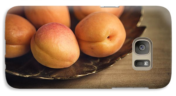 Orange Galaxy S7 Case - Apricots by Nailia Schwarz