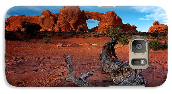 Galaxy Case featuring the photograph Arches by Evgeny Vasenev