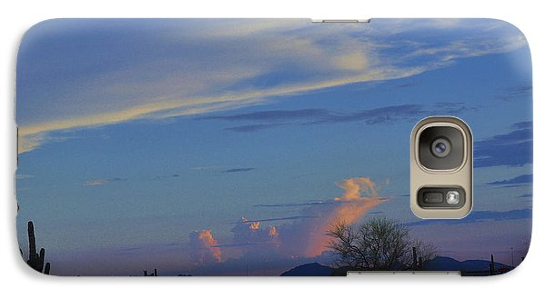 Galaxy Case featuring the photograph Arizona Desert by Helen Haw