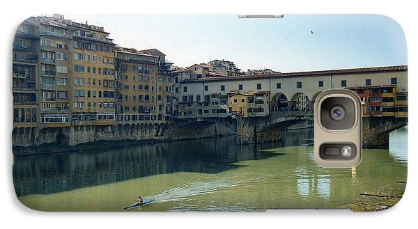 Galaxy Case featuring the photograph Arno River In Florence Italy by Marna Edwards Flavell