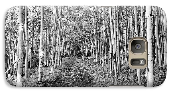 Galaxy Case featuring the photograph Aspen Forest by Farol Tomson