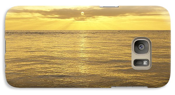 Galaxy Case featuring the digital art Ocean View by Mark Greenberg