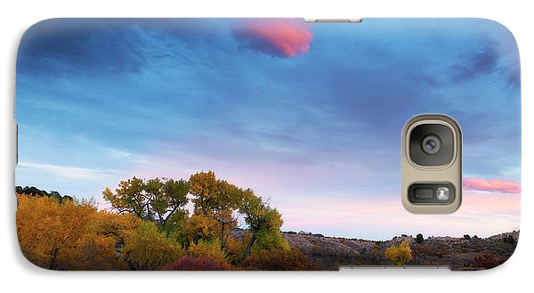 Galaxy Case featuring the photograph Autumn Days by Tim Reaves
