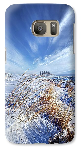 Galaxy Case featuring the photograph Azure by Phil Koch