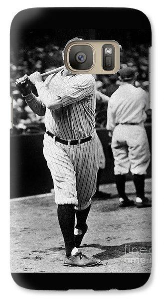 Babe Ruth Galaxy S7 Case by American School