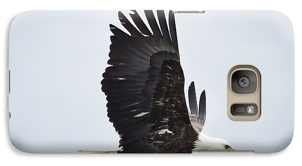 Bald Eagle Galaxy S7 Case by Ricky L Jones