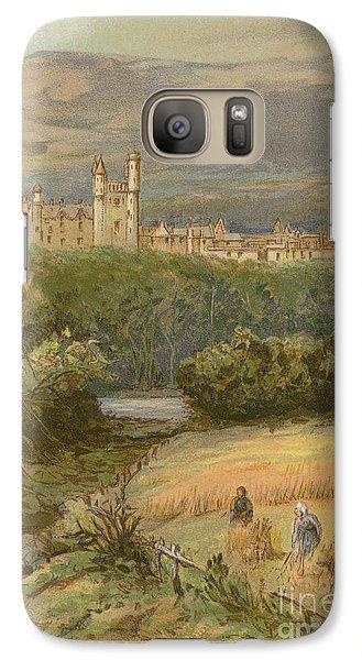 Balmoral Castle Galaxy S7 Case by English School