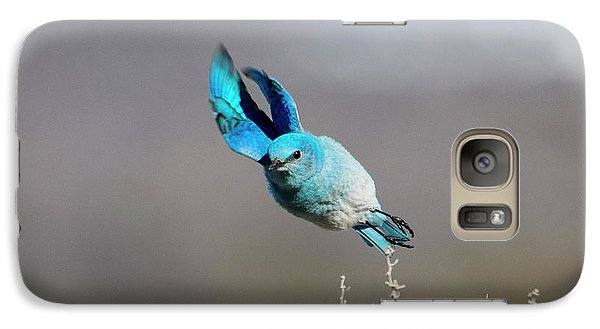Galaxy Case featuring the photograph Bank Right by Mike Dawson