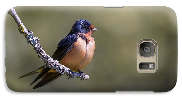 Galaxy Case featuring the photograph Barn Swallow by Kathy King