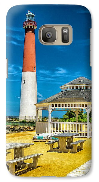 Galaxy Case featuring the photograph Barnegat Lighthouse Park by Nick Zelinsky
