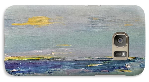 Galaxy Case featuring the painting Beach by Diana Bursztein