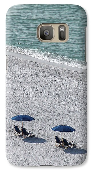 Galaxy Case featuring the photograph Beach Therapy 1 by Marie Hicks