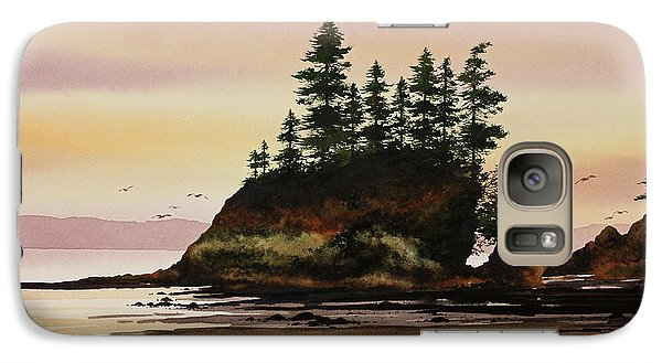 Galaxy Case featuring the painting Beautiful Shore by James Williamson