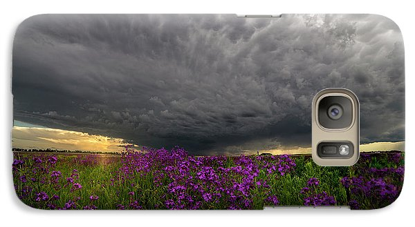 Galaxy Case featuring the photograph Beauty And The Beast by Aaron J Groen